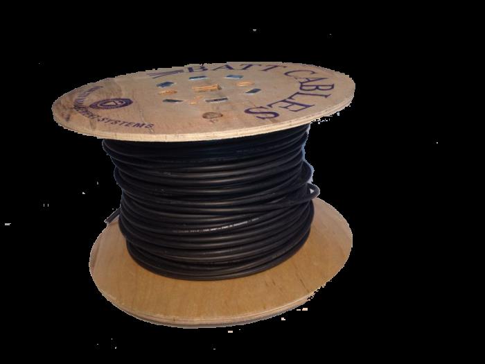 100 m Câble Solaire h1z2z2-k Noir 6 mmâ² pour solaire photovoltaïque
